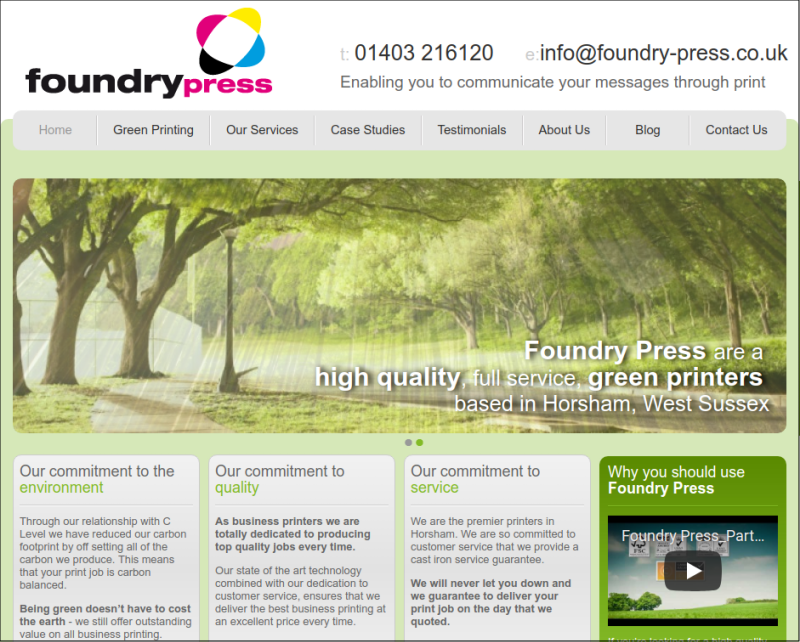 foundry-press-homepage